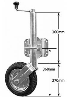Solid Pneumatic Wheel Models