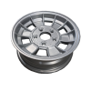 13X5 INCH ALLOY TRAILER WHEEL FORD RIM - SILVER
