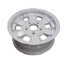 13X5 INCH ALLOY TRAILER WHEEL FORD RIM - WHITE