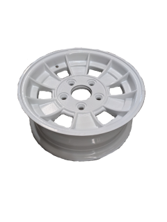 13X5 INCH ALLOY TRAILER WHEEL FORD RIM – WHITE