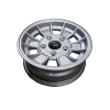 13X5 INCH ALLOY TRAILER WHEEL HQ RIM - NATURAL