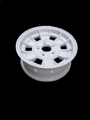 Manutec 13X5 INCH TRAILER WHEEL HQ RIM – WHITE Trailer Caravan Spare Part