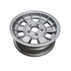 13X5 INCH ALLOY TRAILER WHEEL HT RIM - SILVER