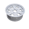 13X5 INCH ALLOY TRAILER WHEEL HT RIM - WHITE