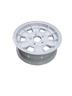 13X5 INCH ALLOY TRAILER WHEEL HT RIM – WHITE