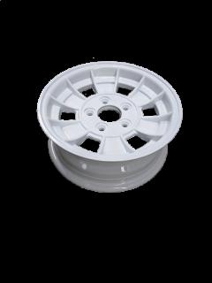 Manutec 13X5 INCH ALLOY TRAILER WHEEL HT RIM – WHITE Trailer Caravan Spare Part
