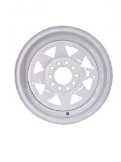 13in Rim only – Multi Fit White Sunraysia Rim