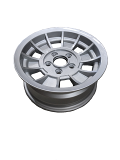 14X6 INCH ALLOY  TX1 TRAILER WHEEL FORD RIM – NATURAL