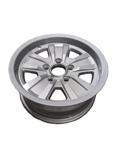 14X6 INCH ALLOY TRAILER WHEEL FORD RIM – SILVER – TX2