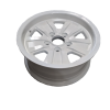 14X6 INCH ALLOY TRAILER WHEEL FORD RIM - WHITE