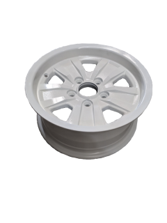 14X6 INCH ALLOY TRAILER WHEEL FORD RIM – WHITE