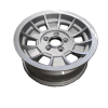 14X6 INCH ALLOY TX1 TRAILER WHEEL HT RIM - SILVER
