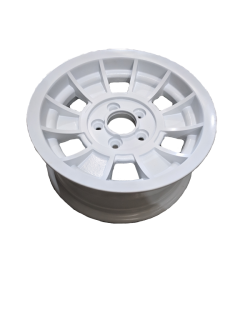14X6 INCH TX-1 ALLOY TRAILER WHEEL HT RIM – WHITE