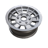 14X6 INCH ALLOY TX1 TRAILER WHEEL LC6 RIM - SILVER
