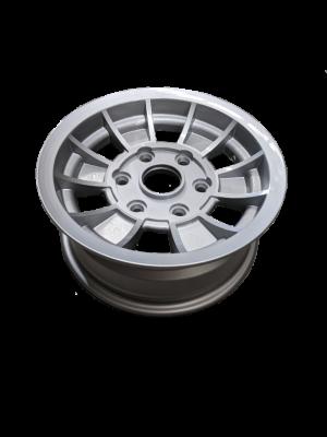 Manutec 14X6 INCH ALLOY TX1 TRAILER WHEEL LC6 RIM – SILVER Trailer Caravan Part