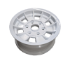 14X6 INCH ALLOY TX1 TRAILER WHEEL LC6 RIM - WHITE