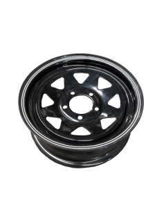 14X5 Rim only – Ford Sunraysia BLACK