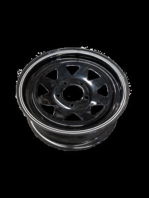 Manutec 14X5 Rim only – Ford Sunraysia BLACK Trailer Caravan Spare Part