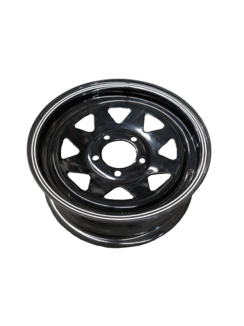 14X5 Rim only - Ford Sunraysia BLACK