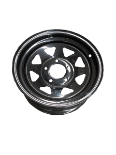 14X6 Rim only – HQ Black Sunraysia