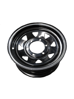14X6 Rim only – Land Cruiser Black Sunraysia