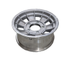 15X7 INCH ALLOY TRAILER WHEEL FORD RIM - NATURAL  - TX1
