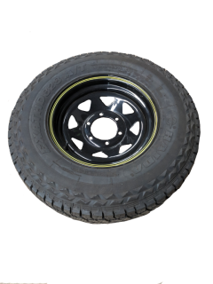 LT235R15 – A/T  10 Ply Tyre fitted to 15 inch