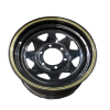 15X7 Rim only - Land Cruiser Black Sunraysia