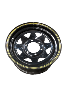 15X7 Rim only – Land Cruiser Black Sunraysia