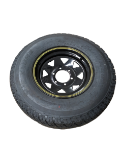 LT235R15 – HD828 A/T  Tyre fitted to 15 inch