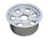16X7 INCH ALLOY TRAILER WHEEL FORD RIM - WHITE  - TX1