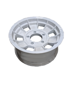 16X7 INCH ALLOY TRAILER WHEEL FORD RIM – WHITE  – TX1