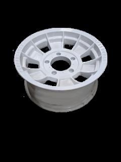 Manutec 16X7 INCH ALLOY TRAILER WHEEL FORD RIM – WHITE – TX1 Trailer Caravan
