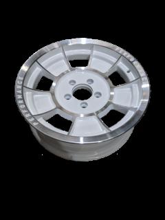 Alloy 16X6 INCH ALLOY TRAILER WHEEL FORD RIM – WHITE MACHINE FACE – TX1 Trailer