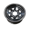 16X7 Rim only - Land Cruiser Sunraysia - Black Siver Stripe