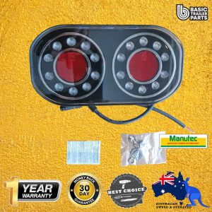 Trailer Lights COMBINATION LED AUTOLAMP MARINE STOP/TAIL/INDICATOR/Licence Parts