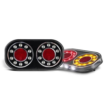 COMBINATION LED AUTOLAMP MARINE STOP/TAIL/INDICATOR/Licence