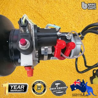 12 VOLT HYDRAULIC POWER UNIT 1.1KW MOTOR, 1.6CC PUMP WITH 5LT TANK
