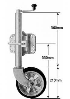 8 Inch Wheel Models
