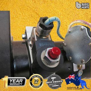 12 VOLT HYDRAULIC POWER UNIT 1.5KW MOTOR, 1.6CC PUMP WITH 8LT TANK