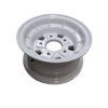 9X4.5 INCH ALLOY BOAT WHEEL HT RIM - WHITE