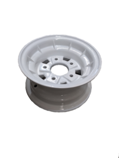 9X4.5 INCH ALLOY BOAT WHEEL HT RIM – WHITE