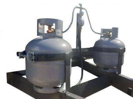 LARGE ADJUSTABLE GAS BOTTLE HOLDER A-FRAME KIT