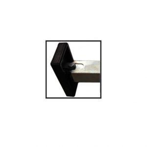 HD Adjustable Leg Quick Release Heavy Duty Foot Weld on Long 670mm