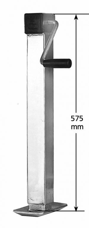 Manutec Side Wind Adjustable Stand, medium, 1000kg Trailer Caravan Spare Part