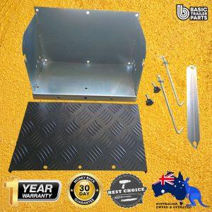 Manutec  Battery Box Set Trailer Caravan Spare Part