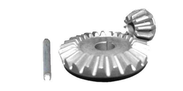 Manutec Bevel Gears (2) for ASSW-HD – Key Way type Trailer Caravan Spare Part