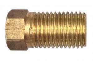 Manutec Hydraulic Brake Brass Long Tube Nut Trailer Caravan Spare Part