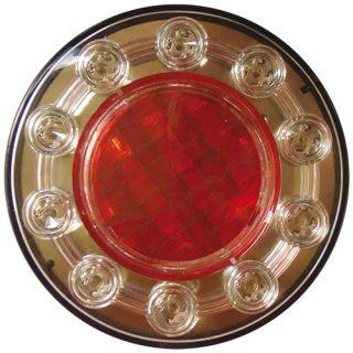 Manutec Trailer Light Series 120 – RED LED STOP TAIL – 10-30v Trailer Caravan