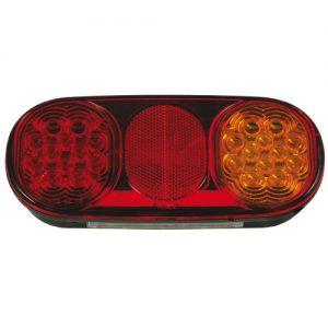 Manutec Trailer Lights COMBINATION 203X92X39 TRAILER LAMP Caravan Spare Part
